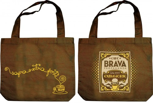 Design para Ecobags promocionais Brava Propaganda